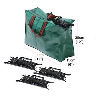 Joulu valaistus varastointi laukku polyeteeni vihreä