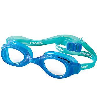 FINIS H2 Junior Swim Goggles - Blue/Clear