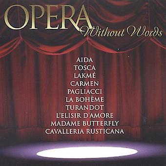 Barry Wordsworth - Opera zonder woorden [CD] USA import