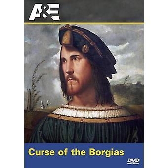 Vloek van de Borgias [DVD] USA import