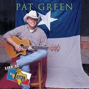 Pat Green - Live at Billy Bob's Texas [CD] USA import