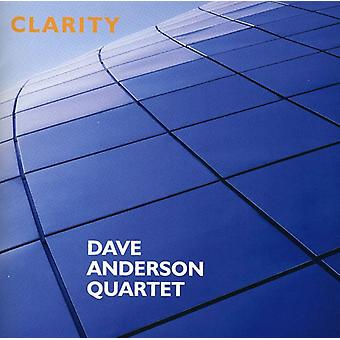 Dave Anderson Quartet - Clarity [CD] USA import