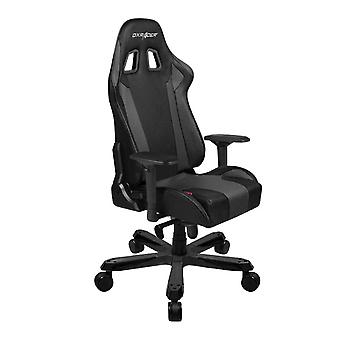 DX Racer DXRacer OH/KS06/N High-Back Chairs Office Chair Carbon Look Vinyl+PU Desk Chair(Black)