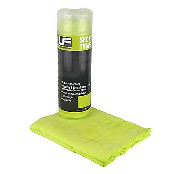 UFE EQUIPMENT quick drying microfibre sports towel [green]