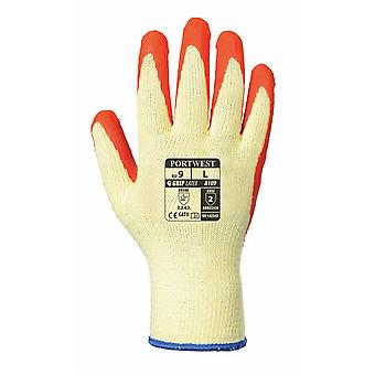 Portwest - Grip Latex Palm Dipped Gripper Gloves (1 Pair Pack)