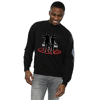 Supernatural Men's Sam And Dean Silhouette Sweatshirt
