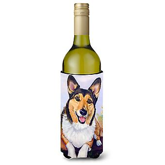 Pembroke Corgi Waiting Wine Bottle beverage Insulator Hugger