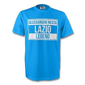 Alessandro Nesta Lazio Legend Tee (sky Blue) - Kids