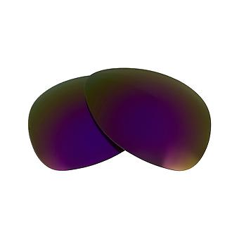 Replacement Lenses for Oakley Plaintiff Sunglasses Purple Mirror Anti-Scratch Anti-Glare UV400 by SeekOptics