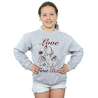Disney Princess Girls Love At First Bite Sweatshirt