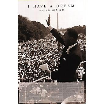 I Have A Dream – Martin Luther King Jr plakat Poster Print