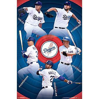 Los Angeles Schwindler - Team Poster drucken