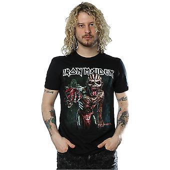 Iron Maiden Men's The Book Of Souls European Tour T-Shirt