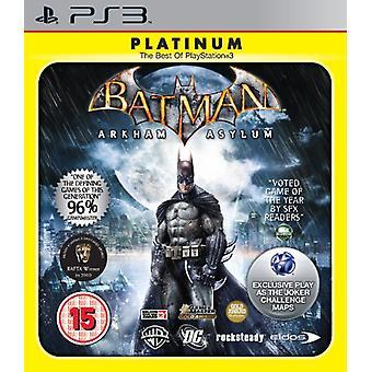 Batman Arkham Asylum - Platinum (PS3) - New