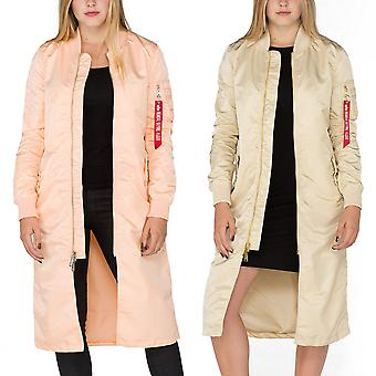 Alpha Industries Damen Jacke MA-1 Coat LW PM Long Wmn