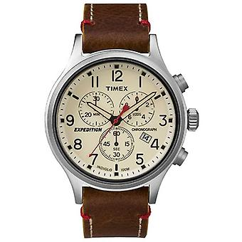Timex Mens Scout Chronograph Cream Dial TW4B04300 Watch