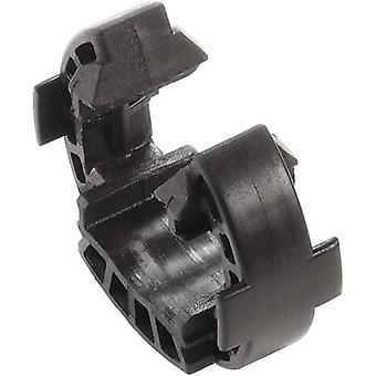Fuse clip SAFETY-CLIP WM4 VPE10 Black Weidmüller Content: 1 pc(s)