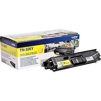 Brother Toner cartridge TN-326Y TN326Y Original Yellow 3500 Sides
