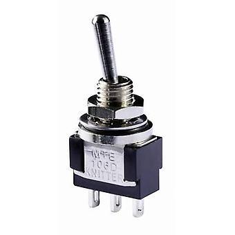 Knitter-bryteren MTE 106E vippebryter 250 V AC 3 et 1 x på/av/på IP67 klinke/0/klinke 1 eller flere PCer