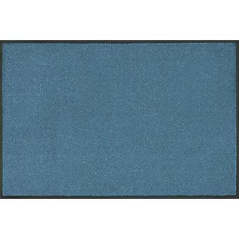 laver + sécher tendance couleur acier bleu lavables tapis bleu