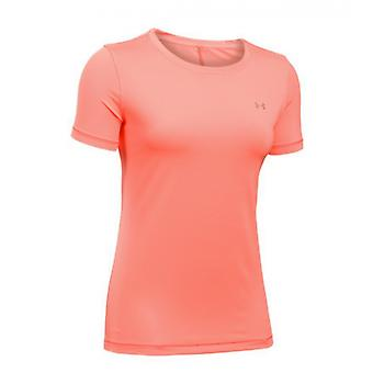 Sous Armour HeatGear T-Shirt ladies orange 1285637-404