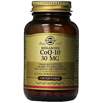 Solgar Megasorb CoQ-10 30 mg Softgels 120 Ct