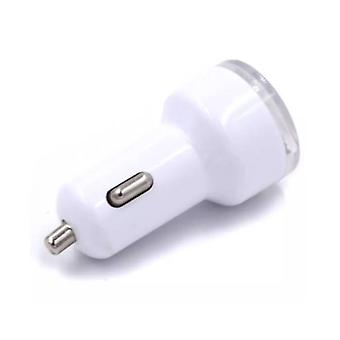 Stuff Certified® 10-Pack High Speed ??Dual Car Charger / Dual Carcharger White