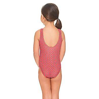 Zoggs Spot Scoopback costume da bagno rosso
