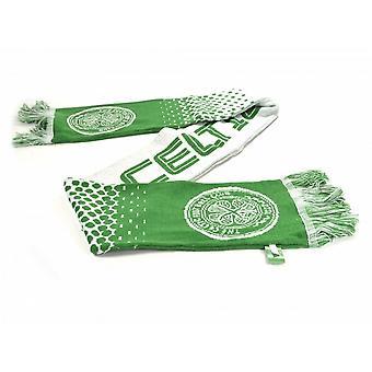 Celtic FC Official Football Fade Jacquard Scarf