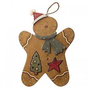Hemel stuurt houten peperkoek Kerstdecoratie
