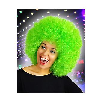 Wigs  Afro wig bright green