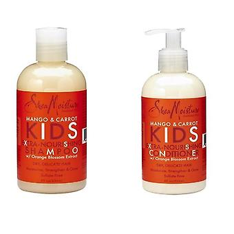 Shea Moisture Mango & Carrot KIDS Extra-Nourishing Shampoo & Conditioner
