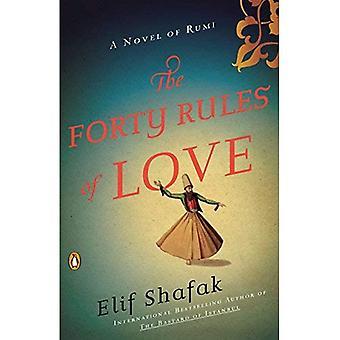 Die vierzig Regeln der Liebe: ein Roman von Rumi