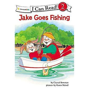Jake gaat vissen: Bijbelse waarden (ik kan lezen: de Jake-serie)