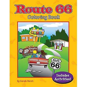 Route 66 libro da colorare