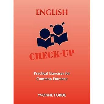 Engelse Check-Up - praktische oefeningen voor gemeenschappelijke ingang