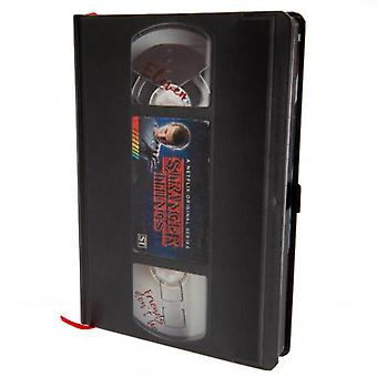 Stranger Things Premium Notebook VHS (en)