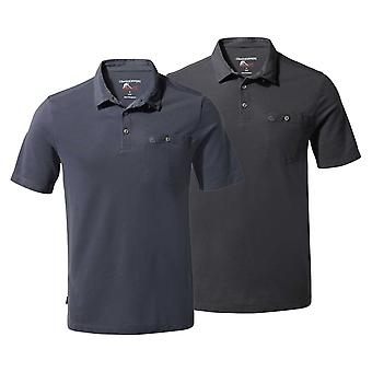 Craghoppers Mens NL Gilles Short Sleeve Polo
