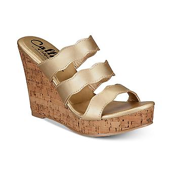 Callisto Womens Flure Open Toe Casual Platform Sandals