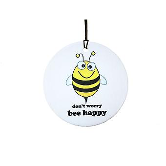 Don't Worry Bee Happy Car Air Freshener