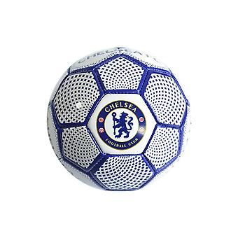 Chelsea FC Diamond Official Supporter Mini Football Soccer Ball White - Size 1