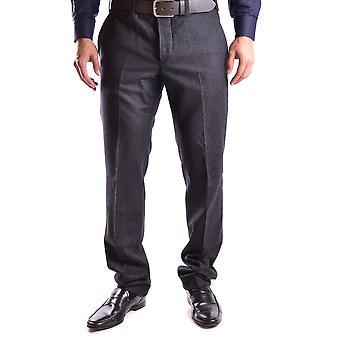 Pt01 Ezbc084009 Men's Grey Wool Pants
