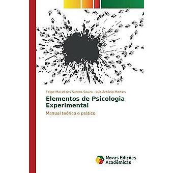Elementos de Psicologia Experimental de Maciel dos Santos Souza Felipe