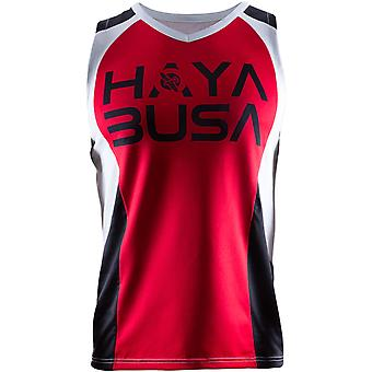 Hayabusa Mens Stacked Performance Jersey - Red/White