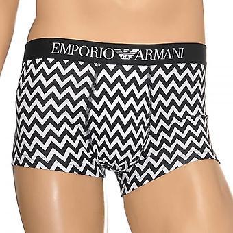 Emporio Armani модный черный & белый Mix ствола, средний