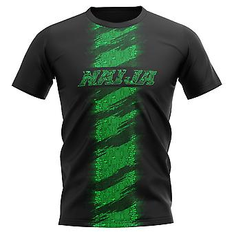 2020-2021 Nigeria Concept Training Shirt (Black) - Womens