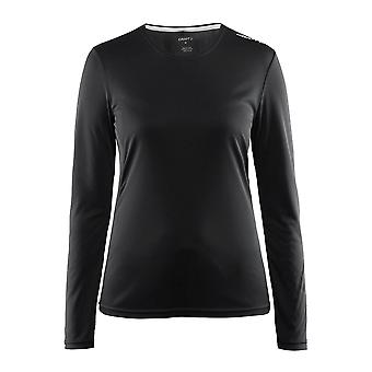 Craft Womens Mind 100% Polyester Long Sleeve Running Tee