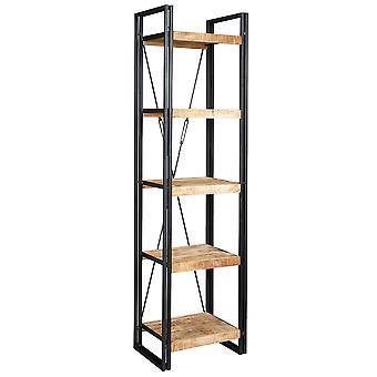 メゾン工業金属・木製スリム オープン本棚