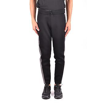 Hydrogen Ezbc186006 Men's Black Cotton Pants