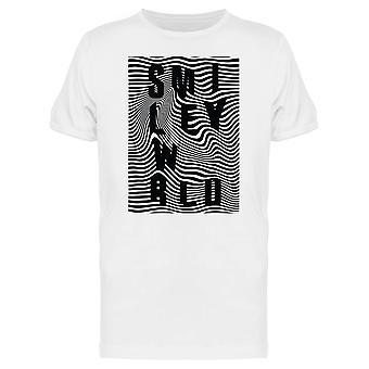 SmileyWorld Retro Distorted Wave Graphic Men's T-shirt